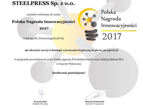 Polska Nagroda Innowacyjności 2017
